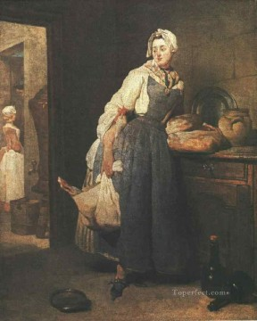 Jean Baptiste Simeon Chardin Painting - Return from the Market still life Jean Baptiste Simeon Chardin