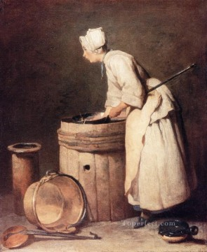 Scul Jean Baptiste Simeon Chardin Oil Paintings