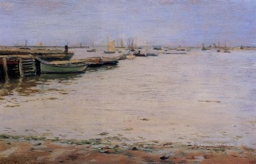 William Merritt Chase Painting - Gowanus Bay aka Misty Day Gowanus Bay William Merritt Chase