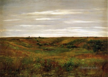 William Merritt Chase Painting - Landscape A Shinnecock Vale William Merritt Chase