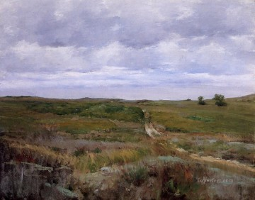 William Merritt Chase Painting - Over the Hills and Far Away William Merritt Chase