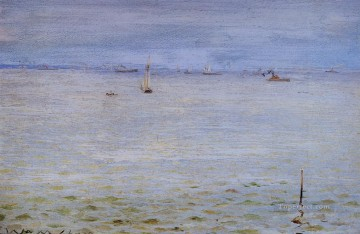 William Merritt Chase Painting - Seascape 1888 William Merritt Chase