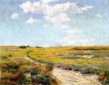Afternoon Works - Sunny Afternoon Shinnecock Hills William Merritt Chase