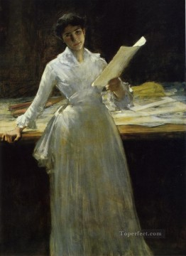 William Merritt Chase Painting - William Merritt Chase
