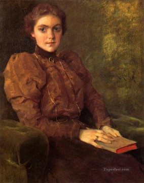 lady - A Lady in Brown William Merritt Chase