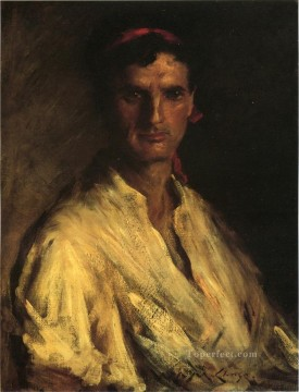 William Merritt Chase Painting - A Young Roman William Merritt Chase
