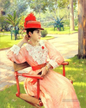 Afternoon Works - Afternoon In The Park William Merritt Chase