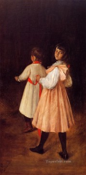 William Merritt Chase Painting - At Play William Merritt Chase