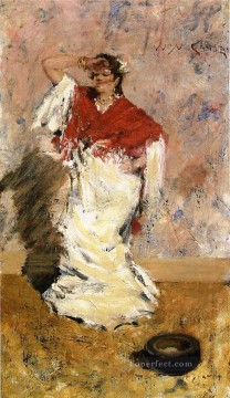 Dancing Art - Dancing Girl William Merritt Chase