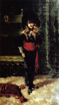William Merritt Chase Painting - Elsie Leslie Lyde as Little Lord Fauntleroy William Merritt Chase