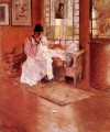 For the Little One aka Hall at Shinnecock William Merritt Chase