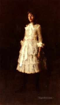 William Merritt Chase Painting - Hattie William Merritt Chase