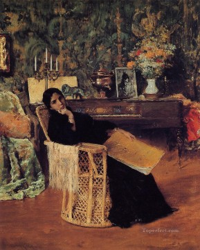 William Merritt Chase Painting - In the Studio 1892 William Merritt Chase