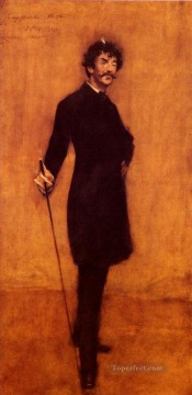 William Merritt Chase Painting - James Abbott McNeill Whistler William Merritt Chase