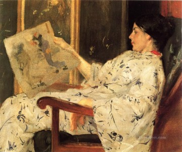 william art painting - Japanese Print 1888 William Merritt Chase