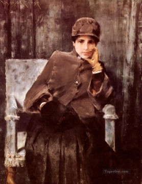 Meditation Art - Meditation William Merritt Chase