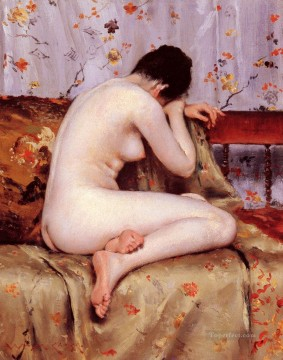 William Merritt Chase Painting - Modern Magdalen William Merritt Chase