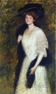 William Merritt Chase Painting - Ms Helen Dixon William Merritt Chase