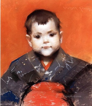 baby works - My Baby aka Cosy William Merritt Chase