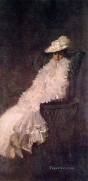 William Merritt Chase Painting - My Daughter Dieudonnee aka Alice Dieudonnee Chase William Merritt Chase