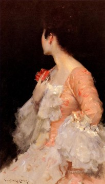 lady - Portrait Of A Lady William Merritt Chase