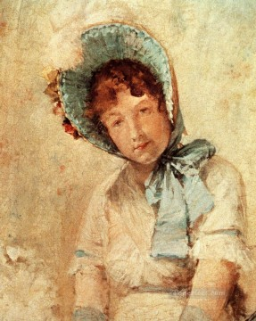 William Merritt Chase Painting - Portrait Of Harriet Hubbard Ayers William Merritt Chase