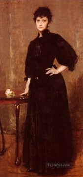 mrs painting - Portrait Of MrsC William Merritt Chase