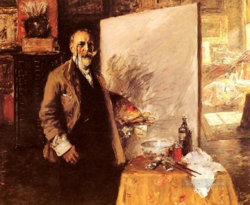 William Merritt Chase Painting - Self Portrait William Merritt Chase