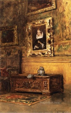 Interior Painting - Studio Interior William Merritt Chase