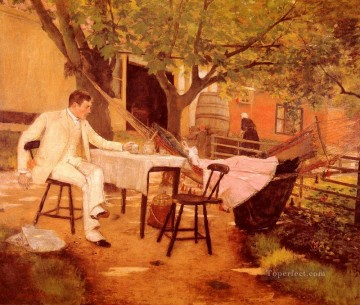 William Merritt Chase Painting - Sunlight and Shadow William Merritt Chase