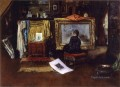 The Inner Studio Tenth Street William Merritt Chase