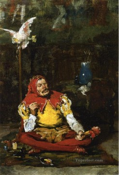 chase Oil Painting - The Kings Jester William Merritt Chase