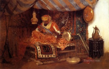 William Merritt Chase Painting - The Moorish Warrior William Merritt Chase