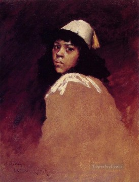 chase Oil Painting - The Moroccan Girl William Merritt Chase