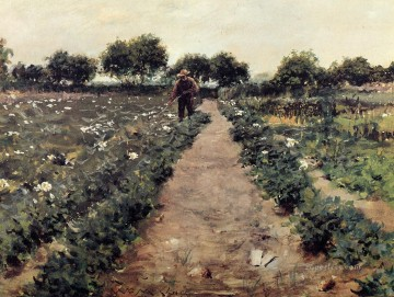 William Merritt Chase Painting - The Potato Patch aka Garden Shinnecock William Merritt Chase