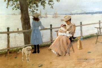 Afternoon Works - Afternoon by the Sea aka Gravesend Bay William Merritt Chase