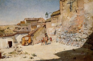 Spain Oil Painting - Sunny Spain William Merritt Chase