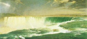 Frederic Edwin Church Painting - Niagara Falls scenery Hudson River Frederic Edwin Church