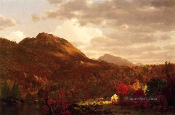 Church Art - Autumn on the Hudson scenery Hudson River Frederic Edwin Church