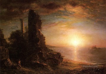 Frederic Edwin Church Painting - Landscape in Greece scenery Hudson River Frederic Edwin Church
