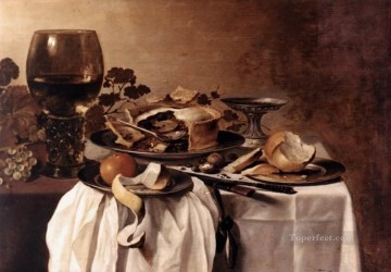 Still Life2 Pieter Claesz Oil Paintings