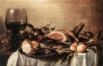 Still Life3 Pieter Claesz Oil Paintings