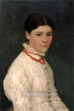 Claus Oil Painting - Agnes Mary Webster modern Sir George Clausen