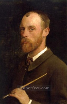 Artist Art Painting - Portrait of the Artist Sir George Clausen