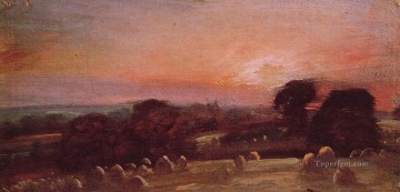 A Hayfield at East Bergholt Romantic John Constable Oil Paintings