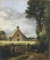 A Cottage in a Cornfield Romantic John Constable
