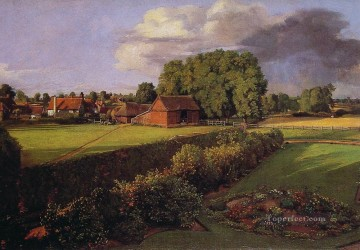 Golding Constables Flower Garden Romantic John Constable Oil Paintings