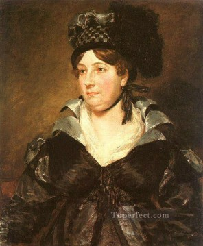Woman Painting - Mrs James Pulham Romantic woman John Constable