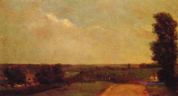 John Constable Painting - View towards Dedham Romantic John Constable