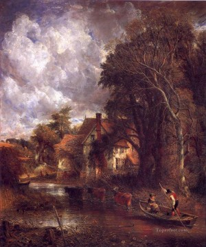 The Valley farm Romantic John Constable Oil Paintings